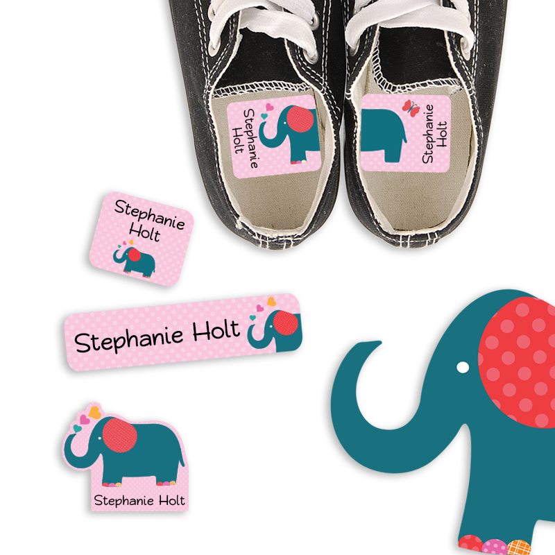 Preschool Labels Elephant Love
