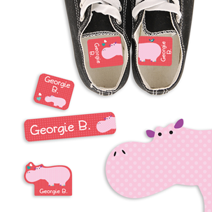 Parade Love Hippo - PRESCHOOL KIDS LABELS