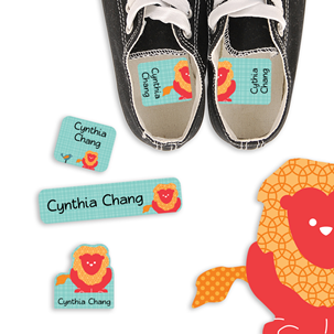 Parade Love Lion - PRESCHOOL KIDS LABELS