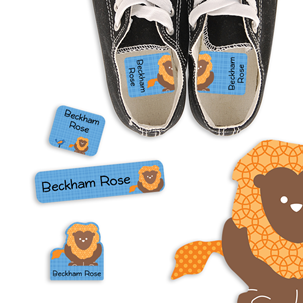 Parade Stars Lion - PRESCHOOL KIDS LABELS
