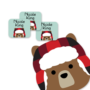 Scout Bear - TAG CLOTHING LABELS