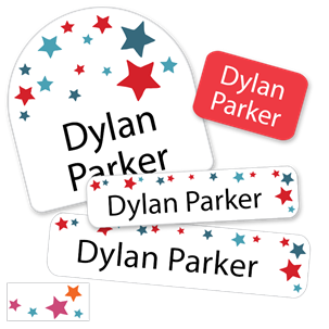 Stars - DAYCARE LABELS