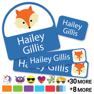 Solids with icons - DAYCARE LABELS