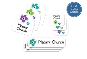 Bloomin (urban) First Class School Labels