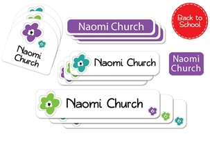 Bloomin (urban) Back to School Labels