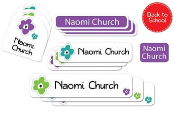 Bloomin urban - Deluxe School Labels Pack