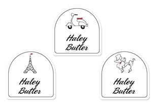 Parisian (belle) Shoe Labels