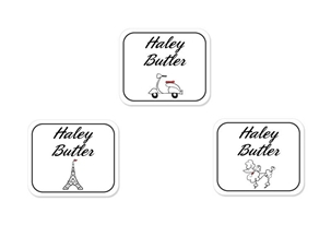 Parisian (belle) Tag-a-Tag Clothing Labels