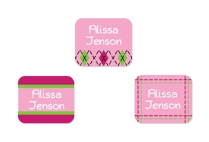 Tailored (pinks) Tag-a-Tag Clothing Labels
