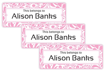 Filigree (posie) - Book Labels