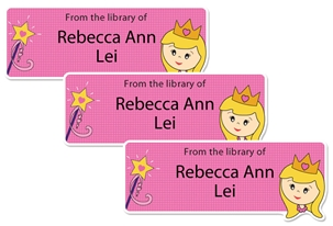 Princess Daisy - Book Labels