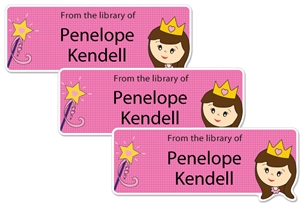 Princess Sweetpea - Book Labels