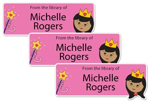 Princess Rose - Book Labels
