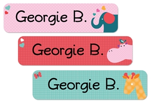 Parade Love (pinks) Large Labels