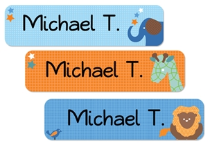 Parade Stars (blues) Large Labels