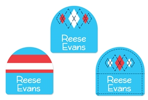 Tailored (turquoise) Shoe Labels