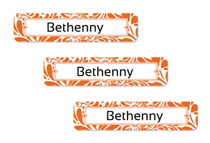 Filigree (tangerine) Popular Labels