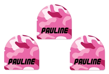 Camo pinks - Shoe Labels