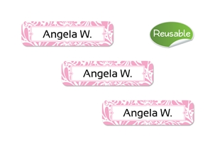 Filigree (posie) Restickable Slim Labels
