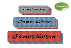 Lumberjack Restickable Labels Set
