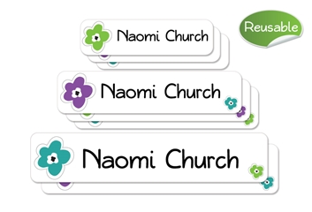 Bloomin (urban) Reusable Labels Set