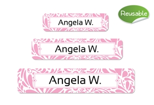 Filigree (posie) Reusable Labels Set