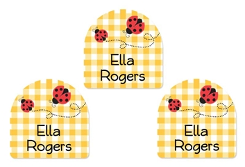 Ladybugs - Shoe Labels