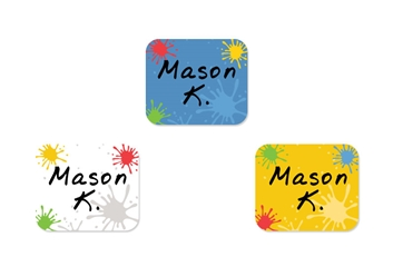 Splat (primary) Tag-a-Tag Clothing Labels