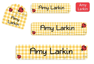 Ladybugs Camp Labels