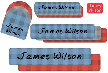 Lumberjack Camp Labels