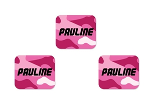 Camo (pinks) Tag-a-Tag Clothing Labels