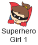 Superhero Girl 1