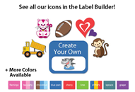 Colortime Tag-a-Tag Clothing Labels