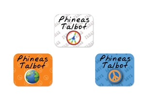 Peace (sunset) Tag-a-Tag Clothing Labels