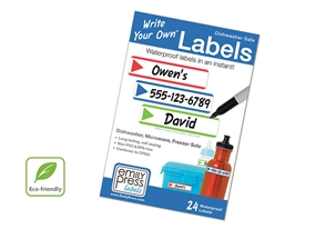 Stripes Primary - Write Your Own Labels >>