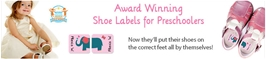 Preschool Shoe Labels