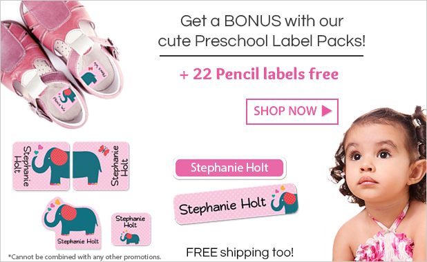 Preschool Labels Sale