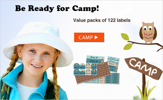 Best Camp Labels - Free Shipping