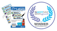 Award winning self laminated waterproof labels