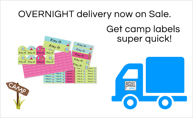 Overnight Shipping Sale