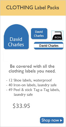 Clothing Labels for School