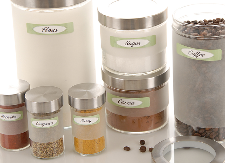 Spice Jar Labels - Canister Labels