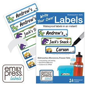 Blank Self Laminating Labels - Write Your Own labels